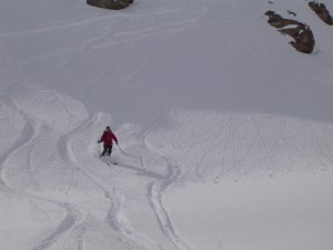 Freeride in Bonneval