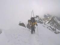 Raid à skis au Paradis