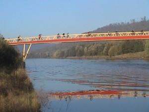 Sur le pont...de la Moselle