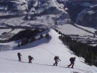On a skié dans le Gruyère !