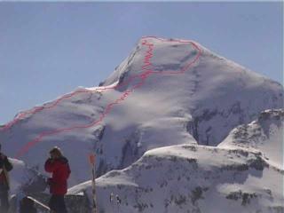 Le Rinderhorn (3450 m.)