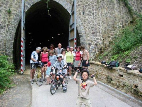 L'entrée du tunnel