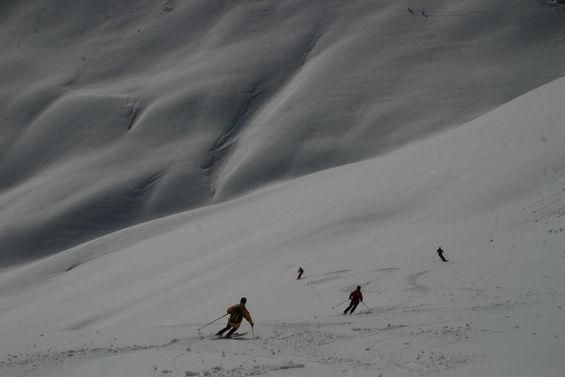Ski moquette