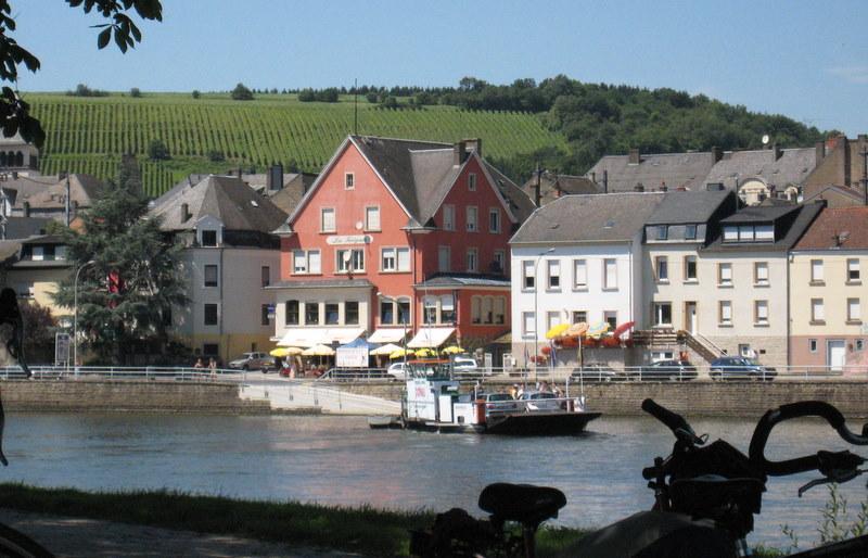Ici, Moselle s'écrit Mosel