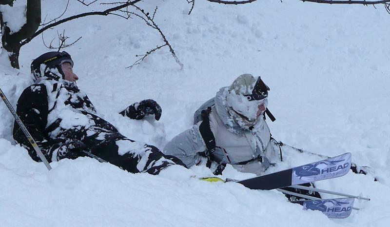 Technique utilisée par certains freeriers qui comme les lagopèdes se laissent ensevelir complétement sous la neige afin de se protéger des grands froids