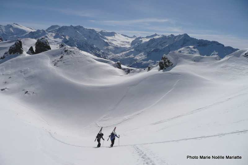 Objectif : skier TOUTES les pentes qui sont bonnes