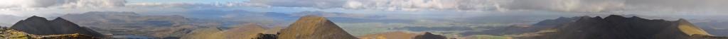 Panorama du Carrauntoohil