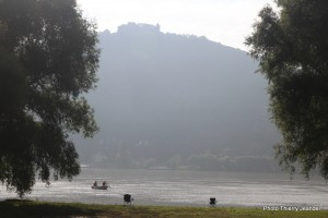 Le Danube dans toute sa splendeur à Nagymaros