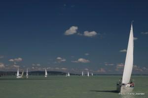 Ambiance de régate sur le Balaton