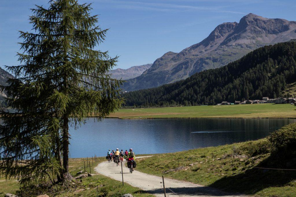Les premiers kilomètres de l'Inn Radweg