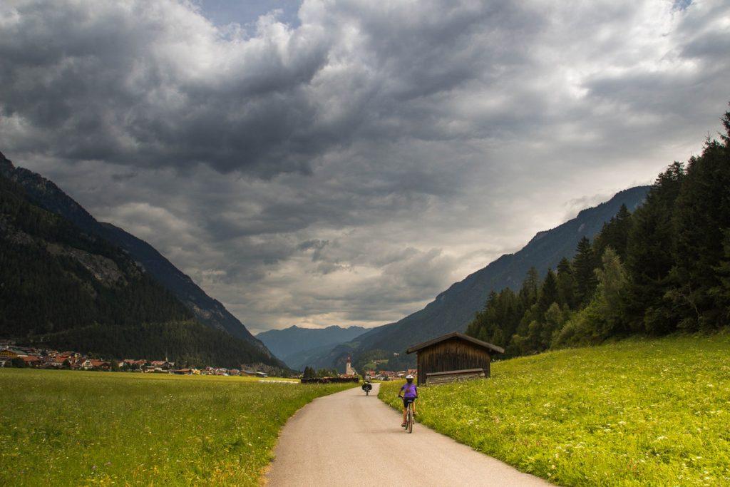 Inn Radweg - Premiers kilomètres au Tirol