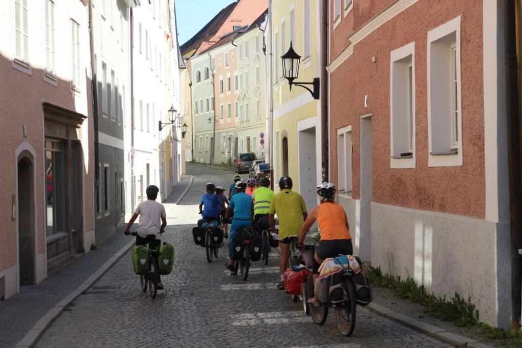 Inn Radweg - L'arrivée à Passau : magique !
