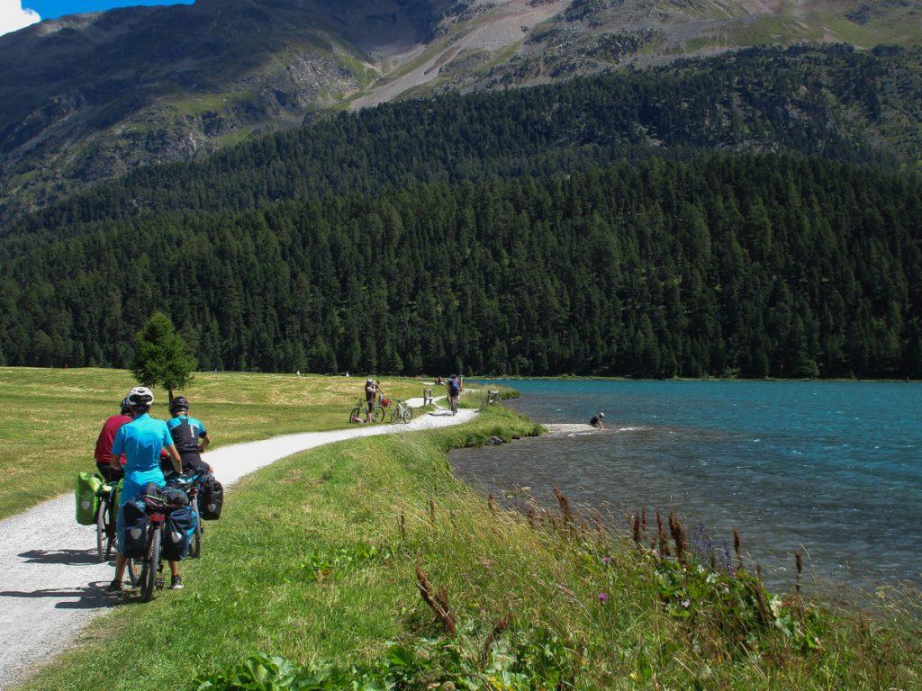 Inn Radweg - La haute Engadine est ses lacs