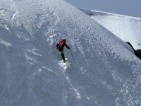 Journée ski de pente raide dans les Vosges