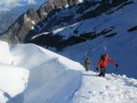 Un 4000 à skis, en juin.