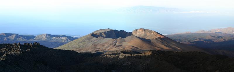 Le Pico Viejo vu depuis le Teide