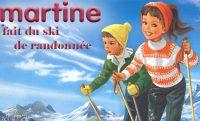 Martine fait du ski de randonnée
